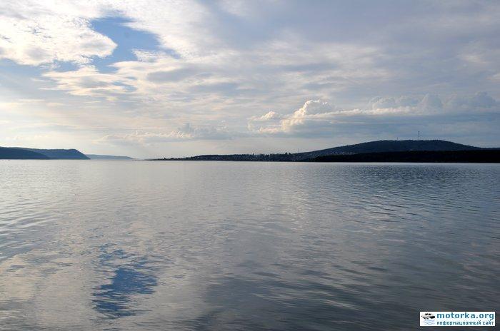 п. Большая речка с воды