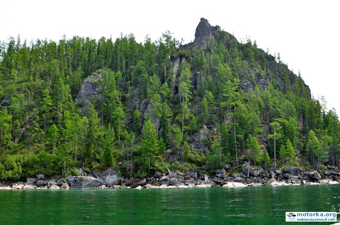 пещеры Турали с Байкала