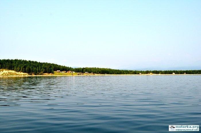 Вход в озеро на мысе Большая Коса