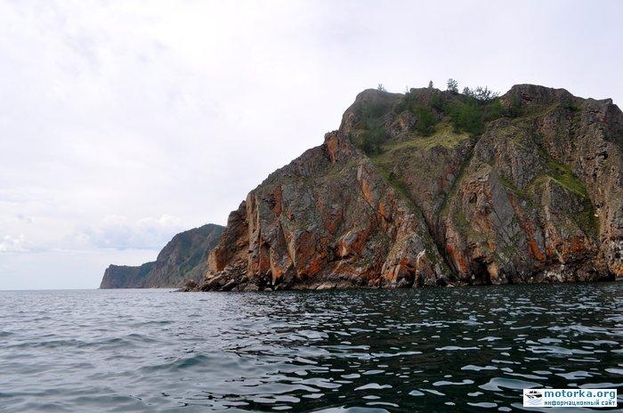 Северо-восточная сторона острова Ольхон