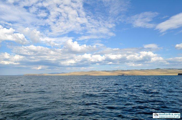 1400км по Байкалу на моторной лодке (июль 2014)
