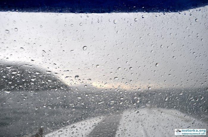 дождь под тентом