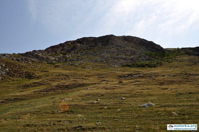 Усть-Анга. Гора Шебета