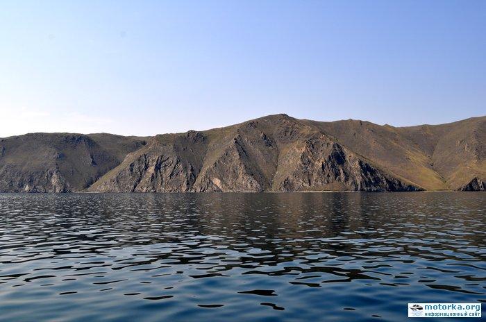 Байкал северней Усть-Анги