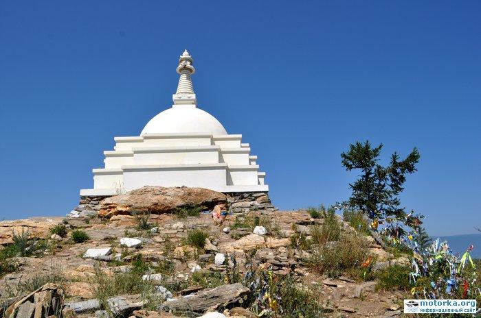 буддийская ступа на Огое
