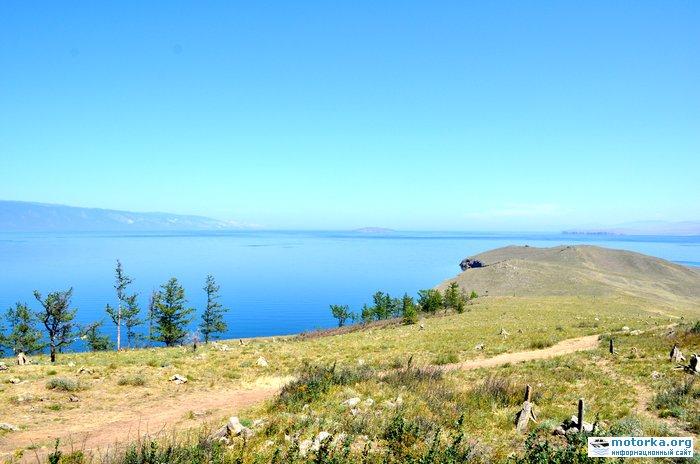 Вид на северную часть острова Огой