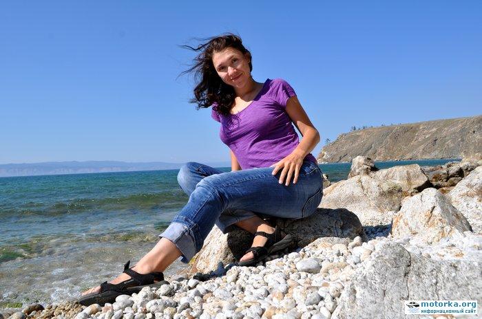 Фотосессия на берегу Байкала