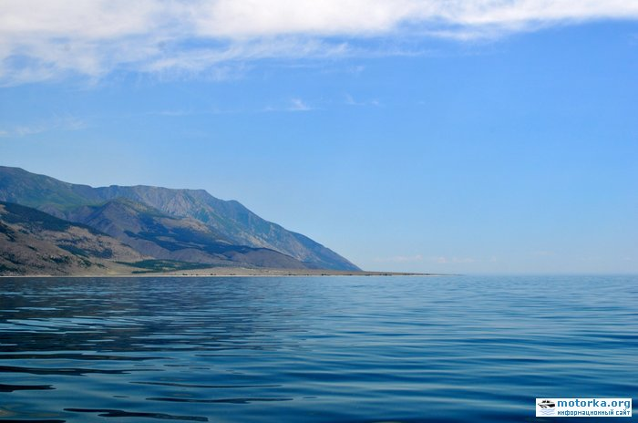 Мыс Рытый на Байкале