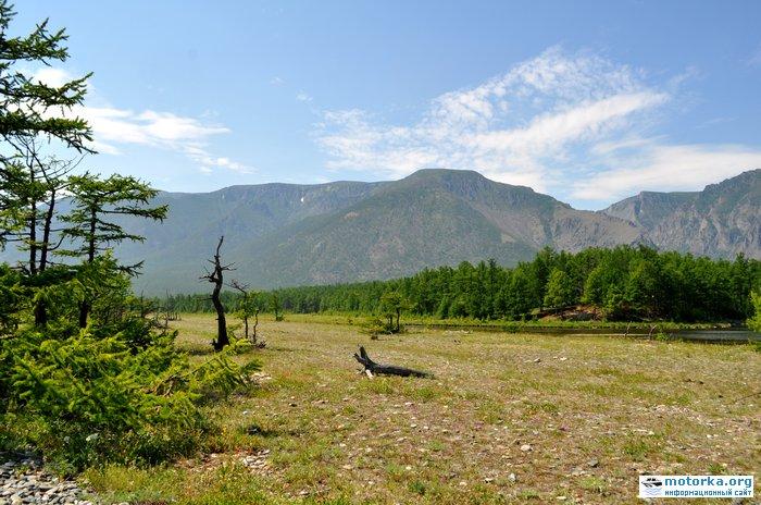 озеро на косе северней метеостанции Солнечная
