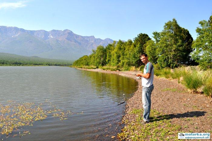 озеро на мысе Большой Солонцовый